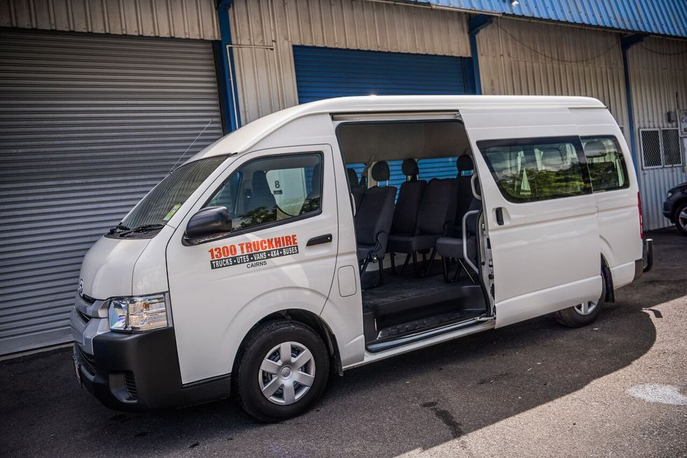 6 Seater Trucks >> 12 seat Bus Hire in Cairns| 1300 TRUCKHIRE